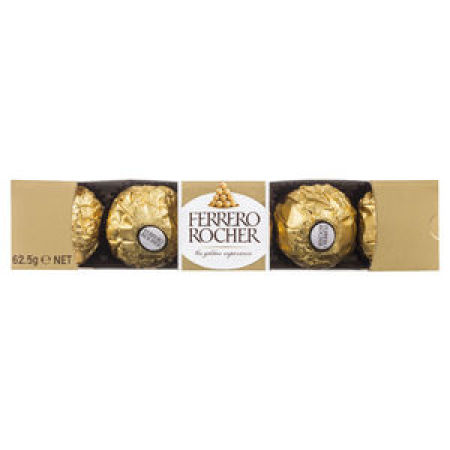 Ferrero Rocher Chocolates 5 Pack 60 gram Box