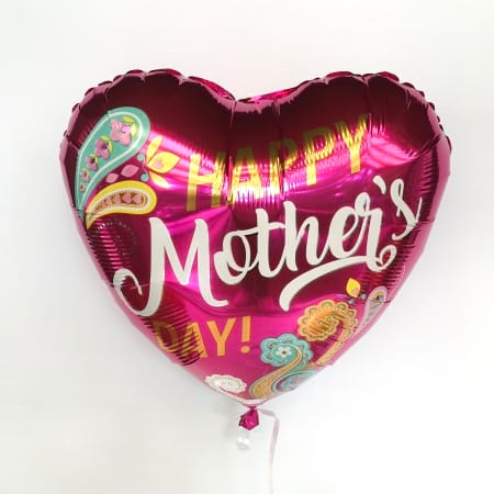 Happy Mother`s Day Paisley Foil Helium Balloon