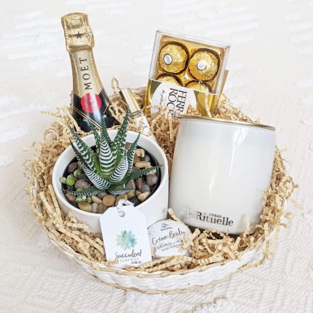 Gold Luxe Gift Basket