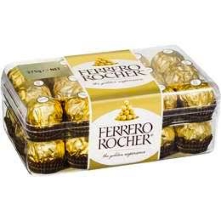 Ferrero Rocher Chocolates 30 Pieces 375g Box