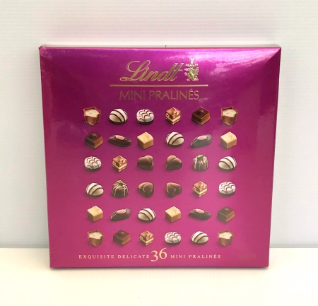 Lindt Mini Pralines 180g  (Pink Box)