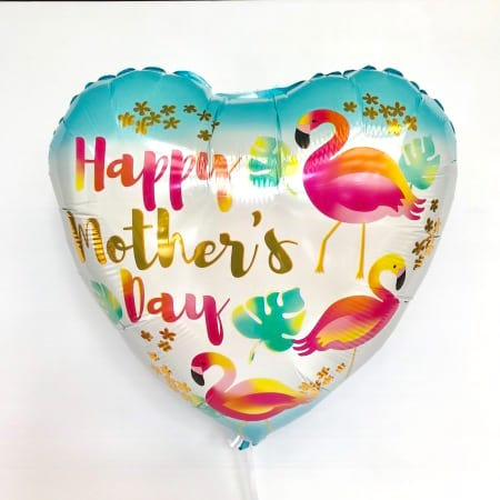 Happy Mother`s Day Flamingos Foil Balloon