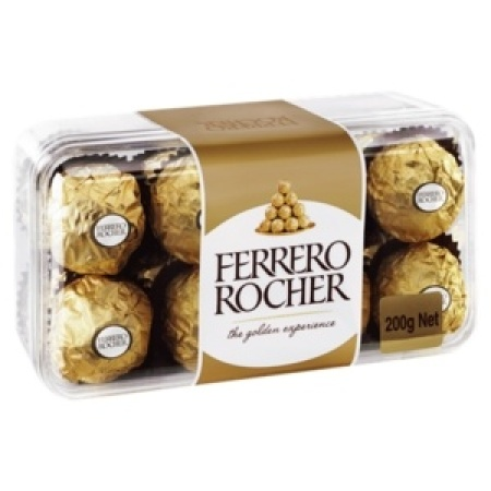Ferrero Rocher Chocolates 16 Pieces 200g Box