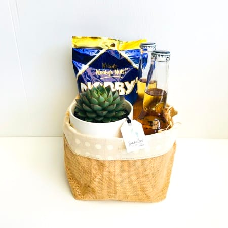 Succulent, Nut & Corona Extra Gift Pack