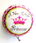 A New Little Princess Helium Balloon